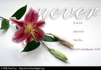 1 Corinthians 13:8 (26 kb)