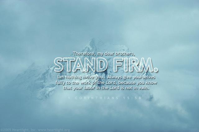 1 Corinthians 15:58 (61 kb)
