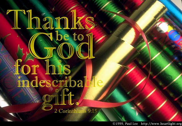 2 Corinthians 9:15 (60 kb)