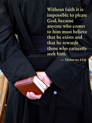 Inspirational illustration of Hebrews 11:6