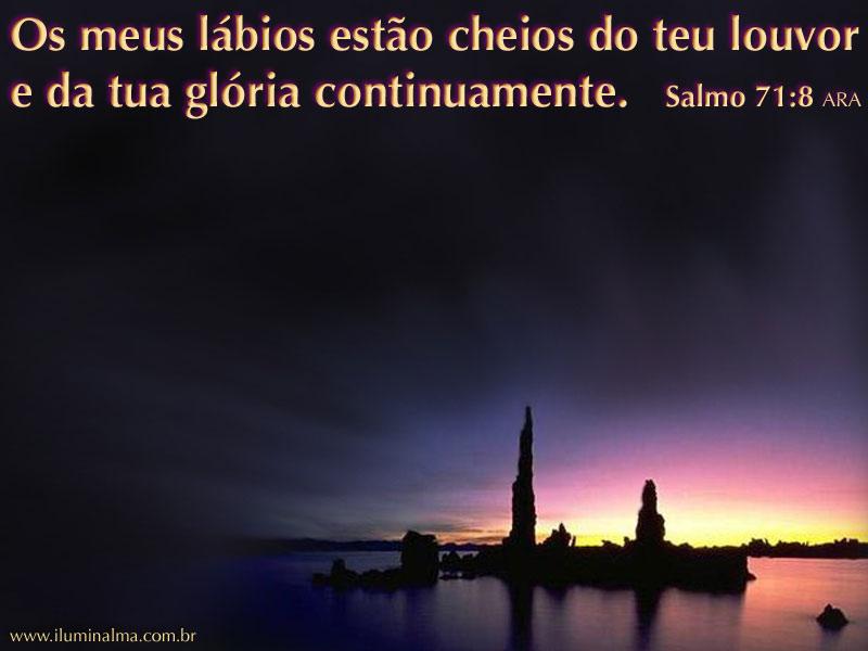 Salmo 71:8