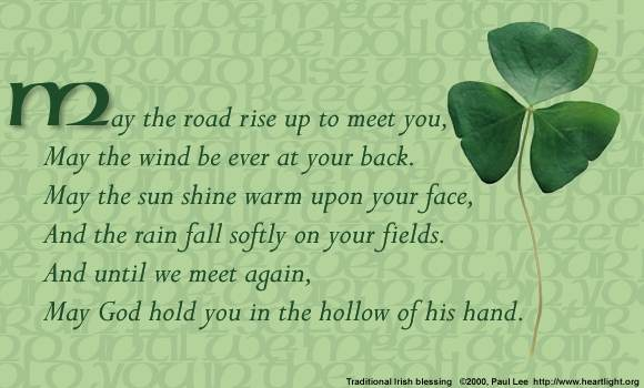 Irish blessing [31 kb]