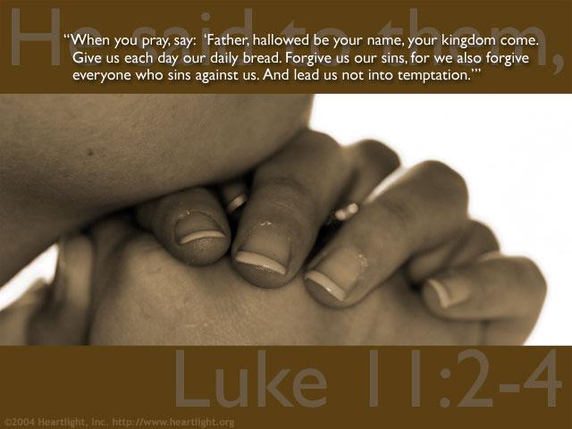 Luke 11:2-4 (45 kb)