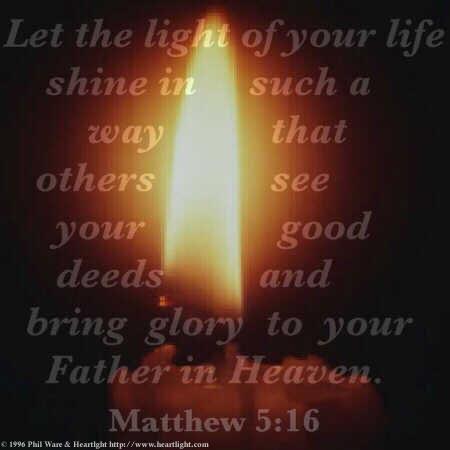Matthew 5:16 (16 kb)