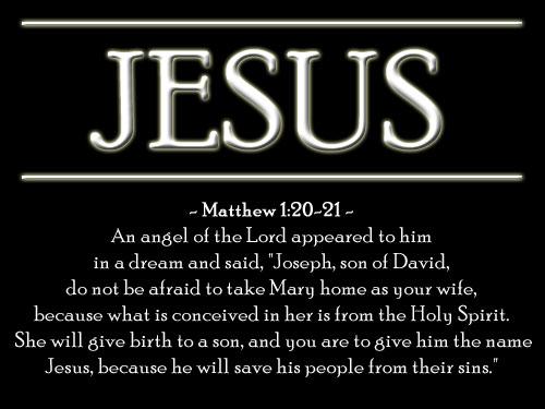 Illustration of Matthew 1:20