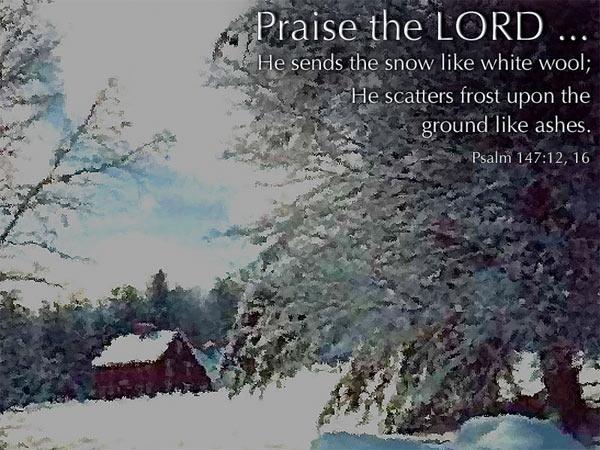Psalm 147:12-16 (74 kb)