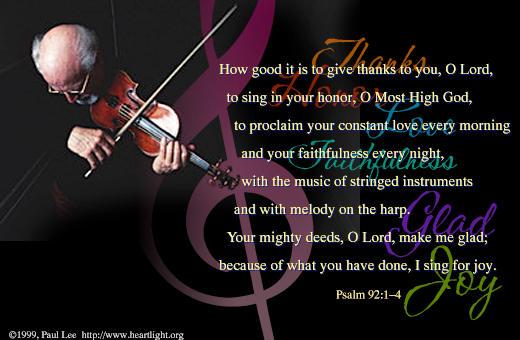 Psalm 92:1-4 (44 kb)