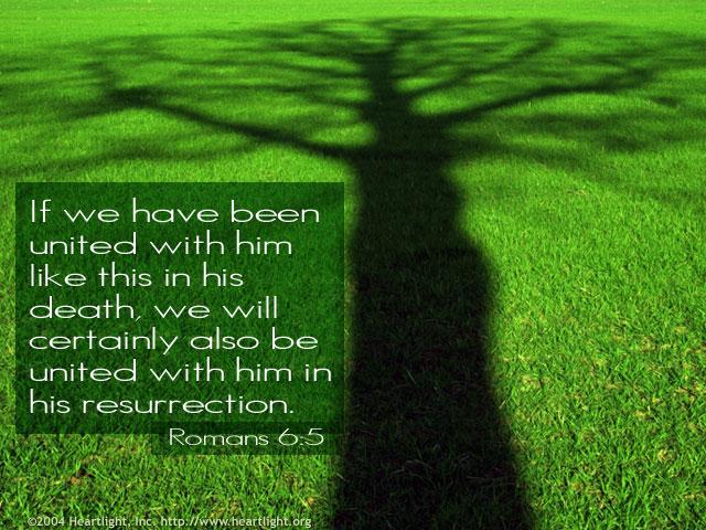 Illustration of Romans 6:5