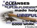 Be a Useful Tool (2 Timothy 2:21)