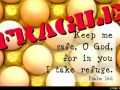 Fragile! (Psalm 16:1)