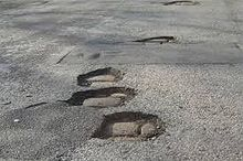 Potholes Ahead
