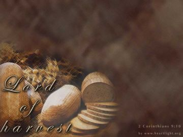 PowerPoint Background: 2 Corinthians 9:10