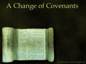 PowerPoint Background: Change of Covenants