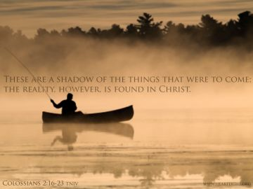 PowerPoint Background: Colossians 2:17 Text