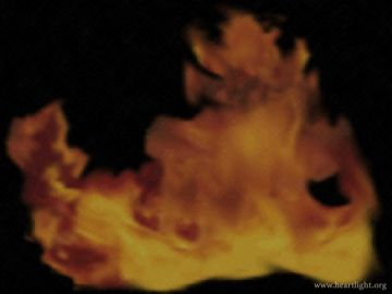 PowerPoint Background: Fire