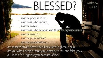 PowerPoint Background: Matthew 5:3-12 Questioning