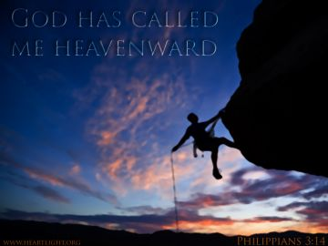 PowerPoint Background: Philippians 3:14 Title