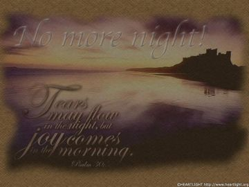 PowerPoint Background: Psalm 30:5 - Background