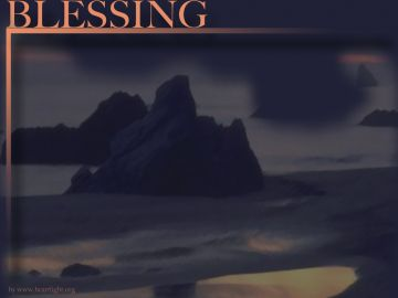 PowerPoint Background: Psalm 63:3 - Blessing