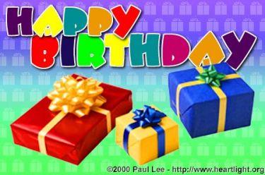 Illustration of the Bible Verse Birthday Presents