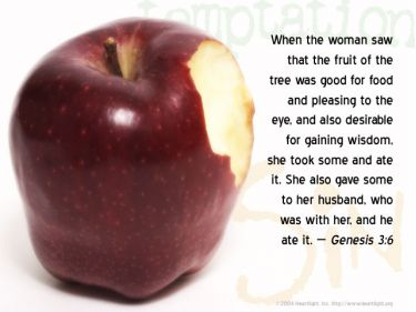 Illustration of the Bible Verse Genesis 3:6