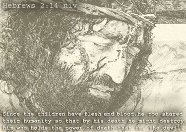 Illustration of the Bible Verse Hebrews 2:14 New 2015