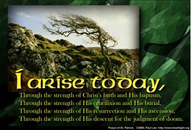 Illustration of the Bible Verse St. Patrick's 1