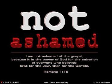 Illustration of the Bible Verse Romans 1:16