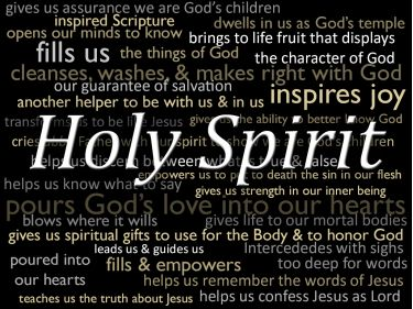 Illustration of the Bible Verse The Holy Spirit