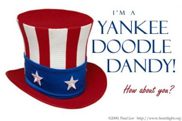 Illustration of the Bible Verse Yankee Doodle