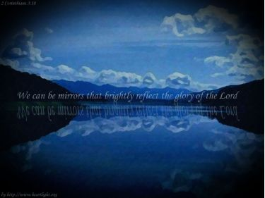 PowerPoint Background: 2 Corinthians 3:18 - Mirror