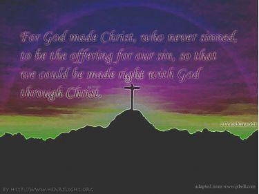 PowerPoint Background: 2 Corinthians 5:21