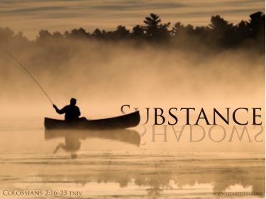 PowerPoint Background: Colossians 2:17 Title