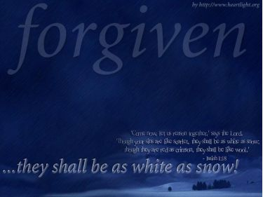 PowerPoint Background: Isaiah 1:18