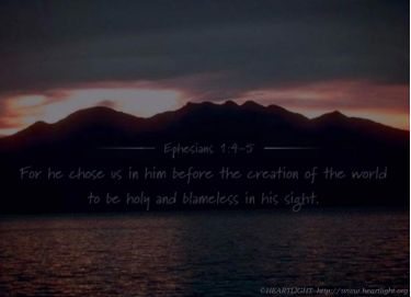 PowerPoint Background: Ephesians 1:4-5