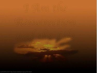 PowerPoint Background: John 11:25