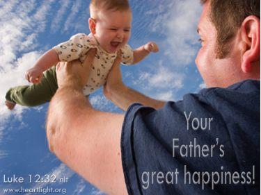 PowerPoint Background: Luke 12:32 Title