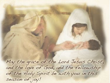 PowerPoint Background: 2009 Christmas Blessing