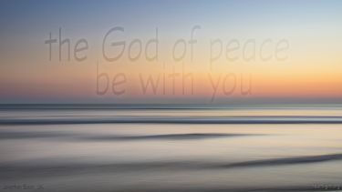 PowerPoint Background: Philippians 4:9 Calming Seas