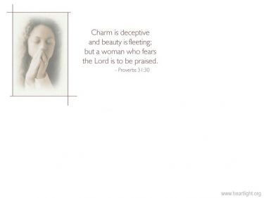 PowerPoint Background: Proverbs 31:30
