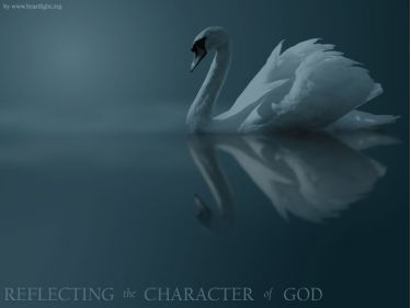 PowerPoint Background: Reflecting the Character of God (Plain)