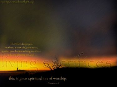 PowerPoint Background: Romans 12:1