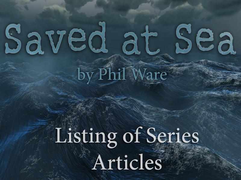 'Saved at Sea' Series List