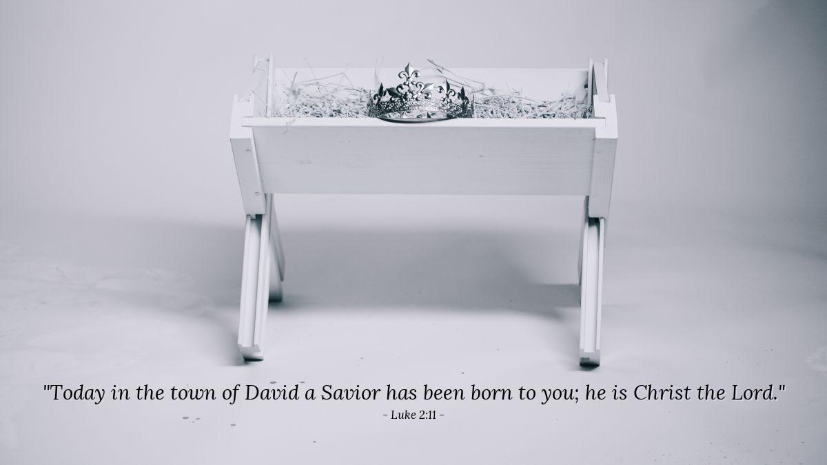 Inspirational illustration of Luke 2:11