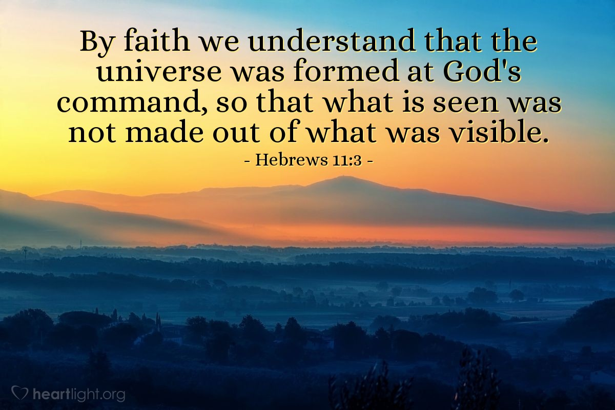 Inspirational illustration of عبرانيين 3:11