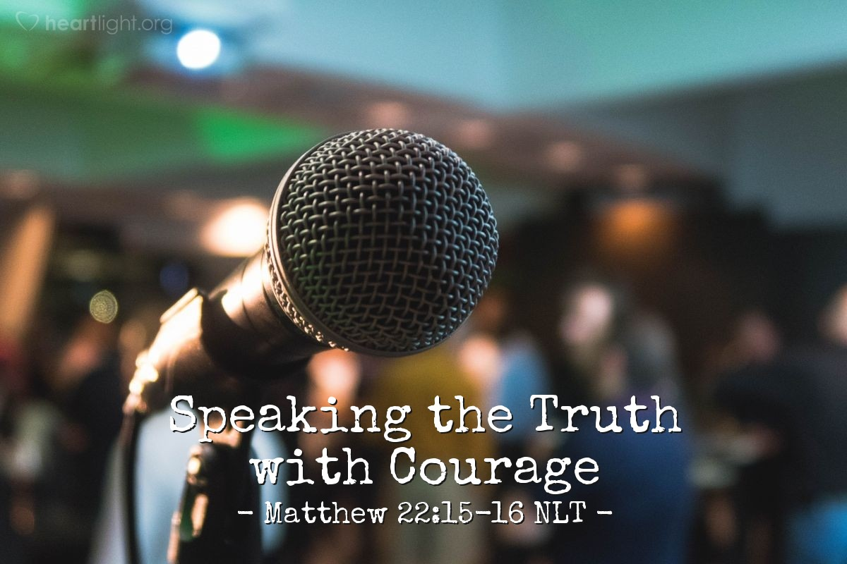 "Illustration of Matthew 22:15-16 — ""Teacher, we know that you are an honest man. We know that you teach the truth about God's way. You are not afraid of what other people think about you. All men are the same to you."""