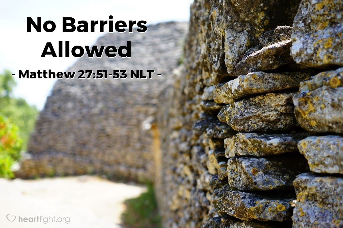 Illustration of Matthew 27:51-53 —  After Jesus was raised from death, those people went into the holy city (Jerusalem), and many people saw them.