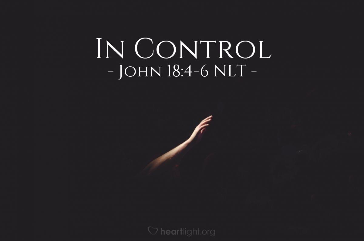 "Illustration of John 18:4-6 — ""I am Jesus,"""