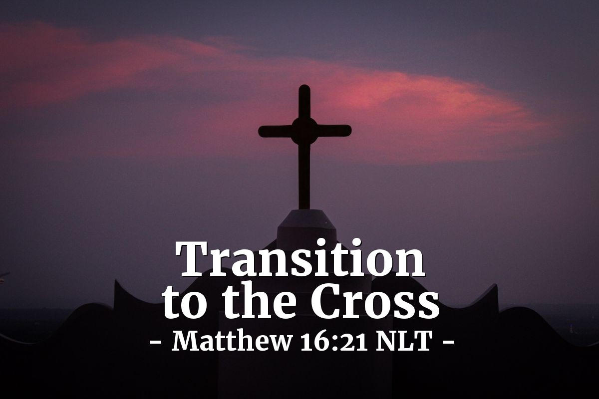 Illustration of Matthew 16:21 —  Then, on the third day, he would be raised from death.