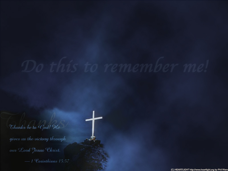 PowerPoint Background using 1 Corinthians 15:57